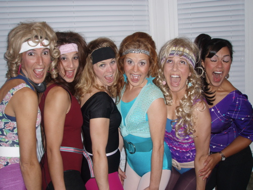 Jane Fonda Workout Photos. Halloween Jane Fonda Style
