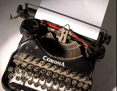 typewriter460